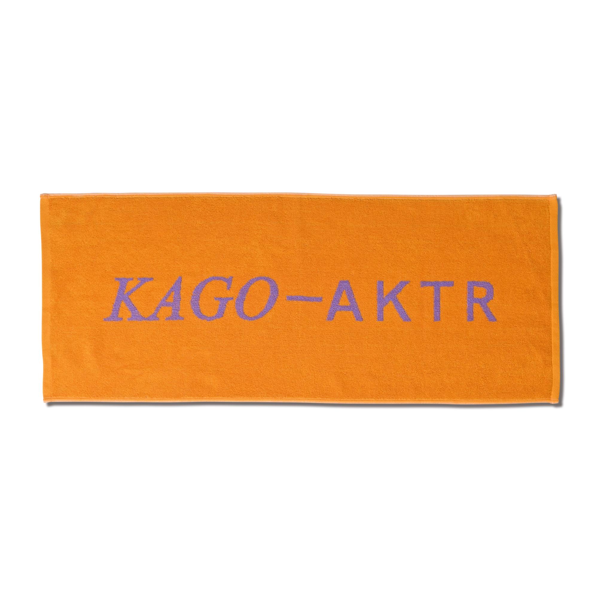 kago-aktr KAGO-AKTR SPORTS TOWEL YL